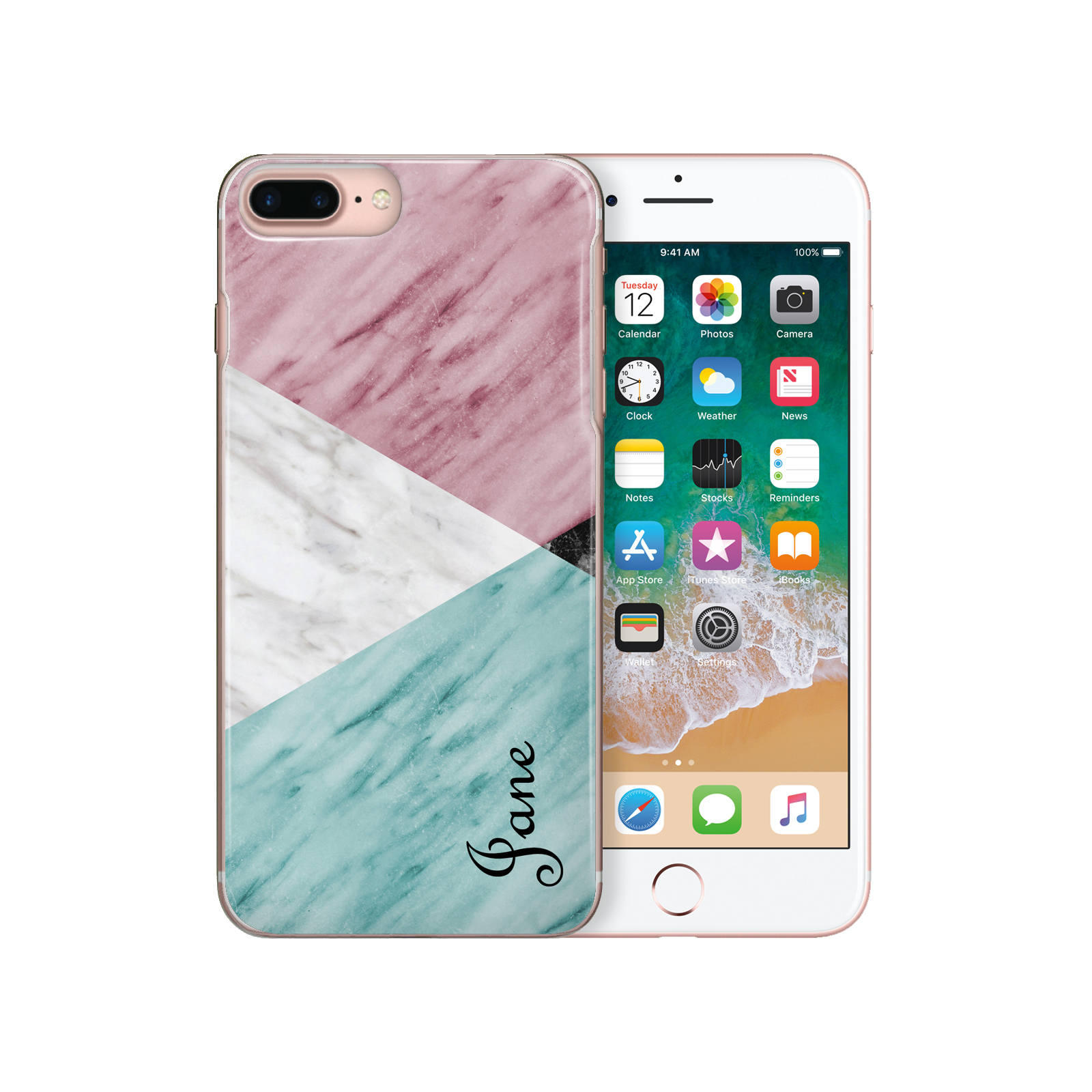 Personalised Silicone Iphone  Case