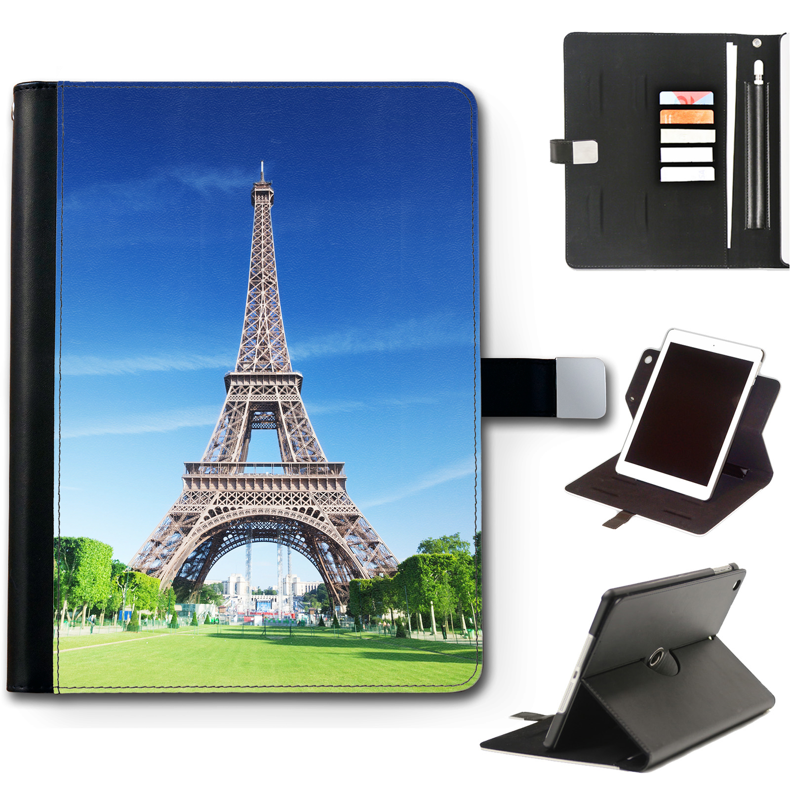 Hairyworm-Citta-Landmarks-Apple-Ipad-Custodia-in-pelle-360-Girevole-Cover-per